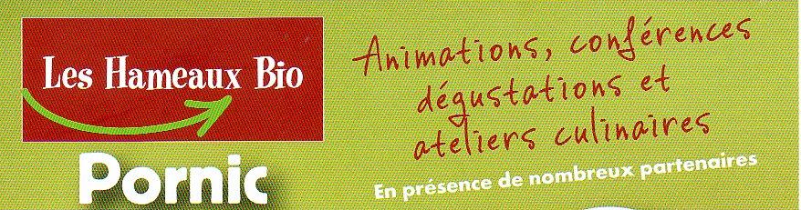 A Pornic, conférence bien-être à la biocoop Les Hameaux Bio