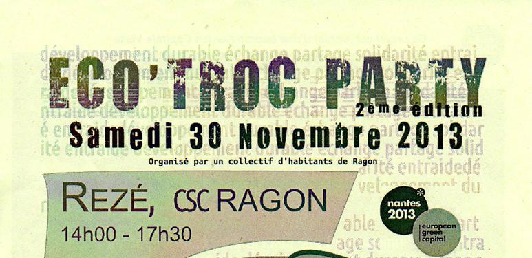 Eco Troc Party : atelier Feng Shui