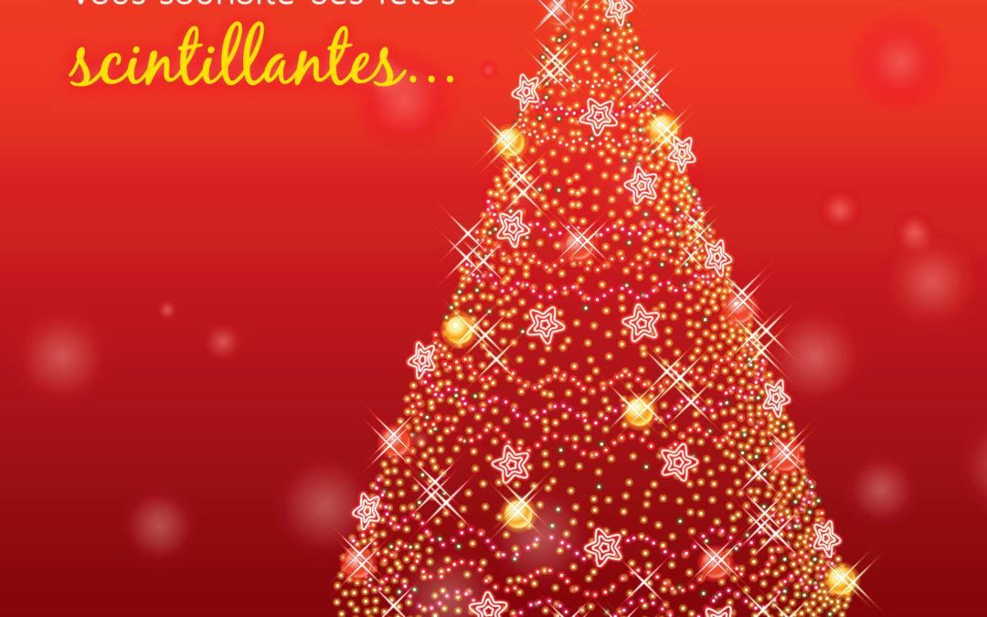 Des fêtes scintillantes !!!